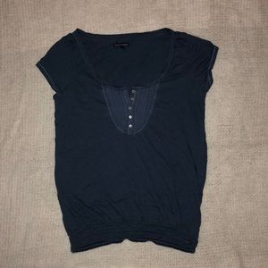 Navy American Eagle Outfitters Shirt